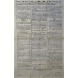 NAPOLEON/BASSECOURT.VOITURES.OCCUPATION FRANÇAISE BARCELONE 1807