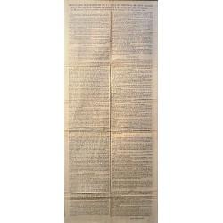 RULES OF THE SLAUGHTERHOUSE. CADIZ 1811. SLAUGHTERHOUSE.