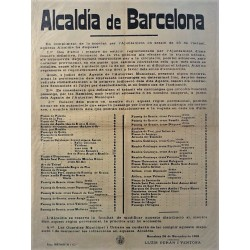 MAYOR OF BARCELONA 1916. AUTOMOBILES AND CARRIAGES.