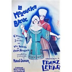 LA MAZOURKA BLEUE. MUSIQUE DE FRANZ LEHAR