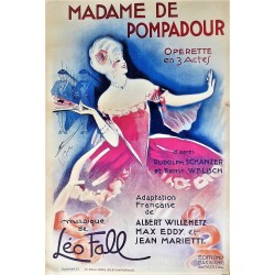 MADAME DE POMPADOUR. MUSIQUE DE LEO FALL