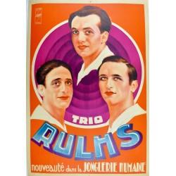 TRIO RULHS. NOUVEAUTE DANS LA JONGLERIE HUMAINE