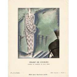 CHAMP DE COURSES. CHARLES LOUPOT. LA GAZETTE DU BON TON