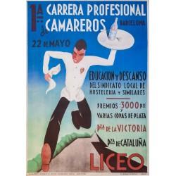 1ª CARRERA PROFESIONAL DE CAMAREROS