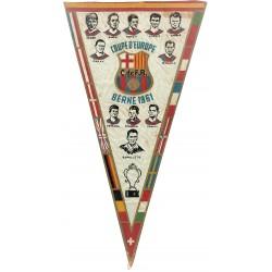C de F B (Club de Futbol Barcelona). COUPRE D'EUROPE 1951. BERNE