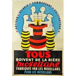TOUS BOIVENT DE LA BIERE MOSELLANE