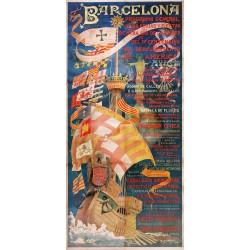 BARCELONA 1892 IV CENTENARIO DESCUBRIMIENTO AMERICA