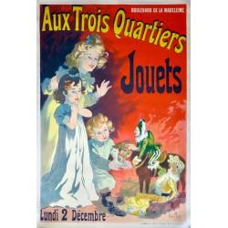 AUX TROIS QUARTIERS. JOUETS