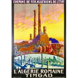 L'ALGERIE ROMAINE. TIMGAD