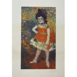 MUSEO PICASSO. DANSEUSE NAINE 1901