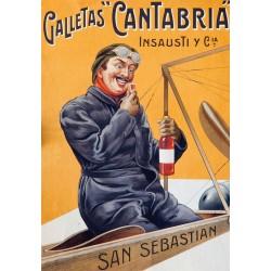 GALLETAS CANTABRIA. SAN SEBASTIAN