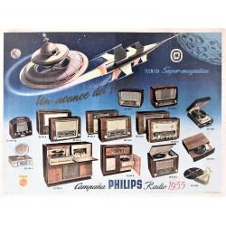 CAMPAÑA PHILIPS RADIO 1955