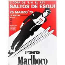 SALTOS DE ESQUI. LA MOLINA 1979. TROFEO MALBORO
