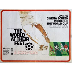 THE WORLD AT THEIR FEET. MEXICO 1970