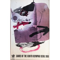 TAPIES GAMES OF THE XXIVTHOLYMPIAD SEOUL 1988