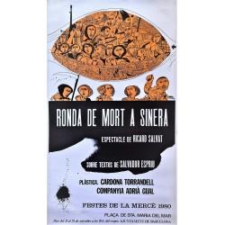 RONDA DE MORT A SINERA DE SALVADOR ESPRIU. COMPANYA ADRIA GUAL