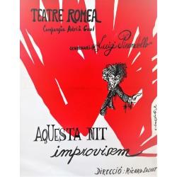TEATRE ROMEA. AQUESTA NIT IMPROVISEM DE LUIGI PIRANDELLO. COMPANYA ADRIA GUAL
