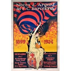 NOCES D'ARGENT DEL F.C. BARCELONA. 1899-1924