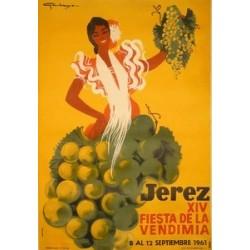 JEREZ XIV - FIESTA VENDIMIA 1961