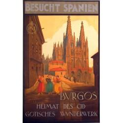 BURGOS BESUCHT SPANIEN