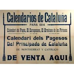 CALENDARIOS DE CATALUÑA 1914