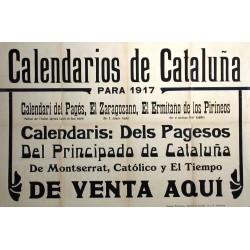 CALENDARIOS DE CATALUÑA 1917