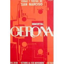 GERONA FERIAS Y FIESTAS DE SAN NARCISO 1969
