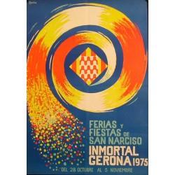 GERONA FERIAS Y FIESTAS DE SAN NARCISO 1975