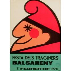 FESTA DEL TRAGINERS BALSARENY 1970