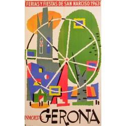 GERONA FERIAS Y FIESTAS DE SAN NARCISO 1963