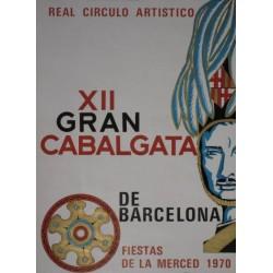 XII GRAN CABALGATA DE BARCELONA 1970