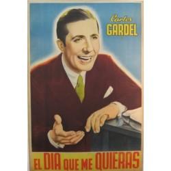 CARLOS GARDEL. EL DIA QUE ME QUIERAS