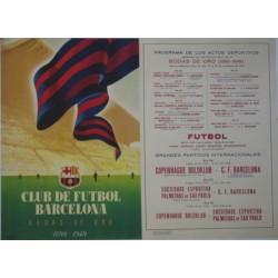 CF BARCELONA. BODAS DE ORO. 1899-1949