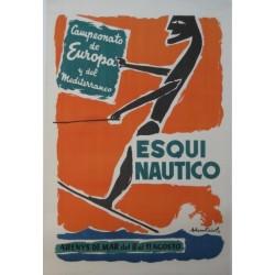CAMPEONATO ESQUÍ NAUTICO. ARENYS DE MAR