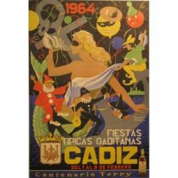 CADIZ 1964. FIESTAS TIPICAS GADITANAS