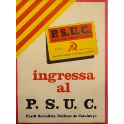 INGRESSA AL PSUC