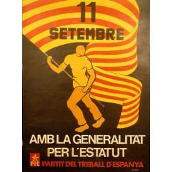 11 S. AMB LA GENERALITAT PER L'ESTATUT