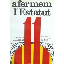 AFERMEM L'ESTATUT. 11 SETEMBRE 1979