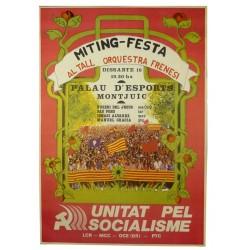 MITING-FESTA. UNITAT PEL SOCIALISME