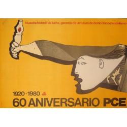60 ANIVERSARIO. PCE