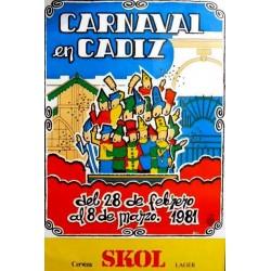 CARNAVAL DE CADIZ 1981