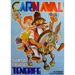 CARNAVAL SANTA CRUZ DE TENERIFE 1981