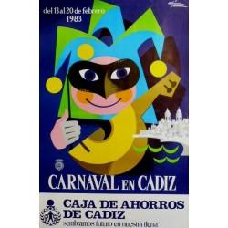 CARNAVAL EN CADIZ 1983