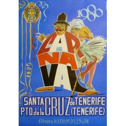 CARNAVAL 1980 SANTA CRUZ DE TENERIFE