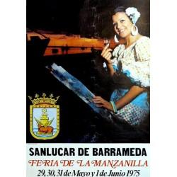 FERIA DE LA MANZANILLA. SANLUCAR DE BARRAMEDA 1975