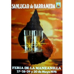 FERIA DE LA MANZANILLA. SANLUCAR DE BARRAMEDA 1976