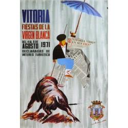 FIESTAS DE LA VIRGEN BLANCA VITORIA 1971
