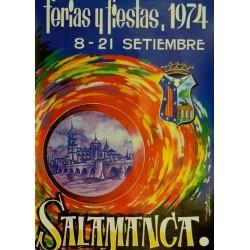 FERIAS Y FIESTAS 1974 SALAMANCA