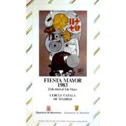 FIESTA MAYOR 1983 CERCLE CATALÀ DE MADRID