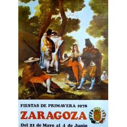ZARAGOZA FIESTAS DE PRIMAVERA 1978